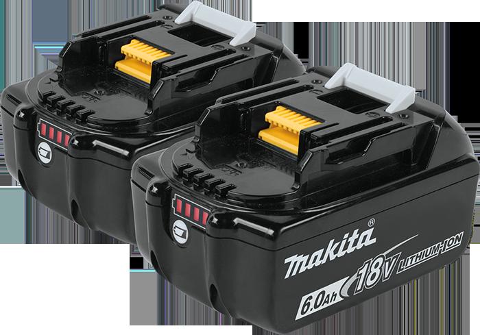 Обзор аккумуляторов Makita