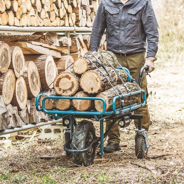 Перевозка дров Makita DCU180Z